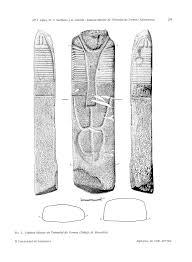 Estatua-menhir de Tremedal de Tormes (revistas.usal.es)
