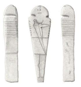 Estatua-menhir de Valdefuentes de Sangusín  (Béjar.biz)