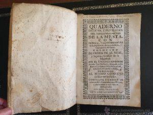 2.Cuaderno de la Mesta