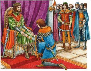 2.Señor feudal y caballero
