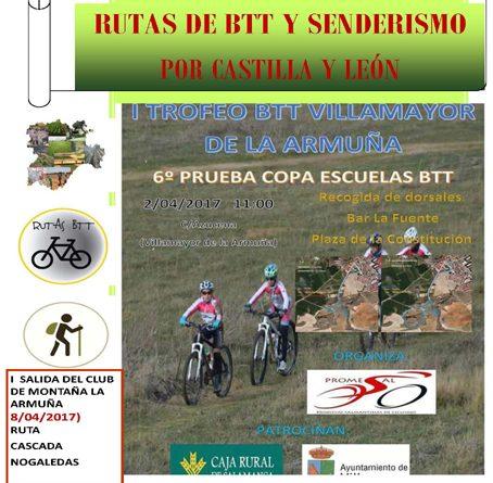 cartelSeccion II rutas de senderismo REDUCIDO