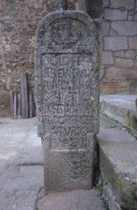 estela romana